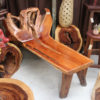 Teak Root Chaise Lounge