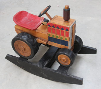 Recycled Teak Rocking Tractor - Temporarily Out of Stock