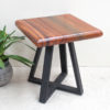 Monkeywood Stool - Triangle