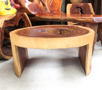 Monkey Wood Coffee Table #32