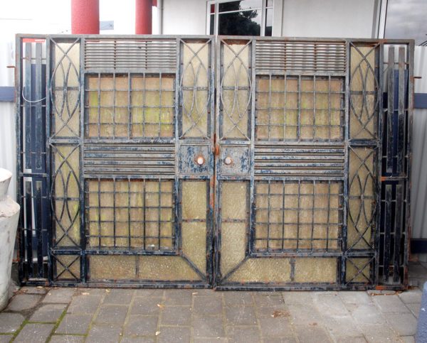 Vintage Wrought Iron Gate from India
