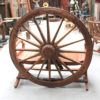 Wagon Wheel Bench Seat - 2 Seater - TEMPORARILY OUT OF STOCK