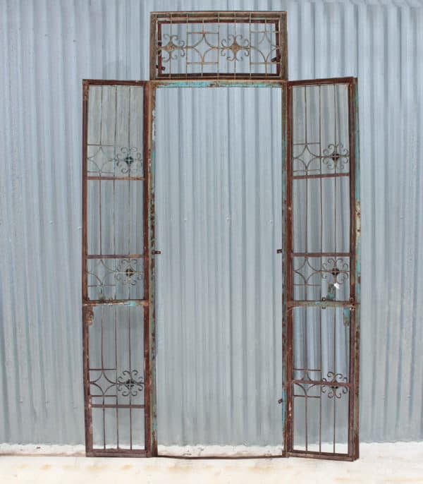 Vintage Wrought Iron Gate - CH28 - Barron Imports