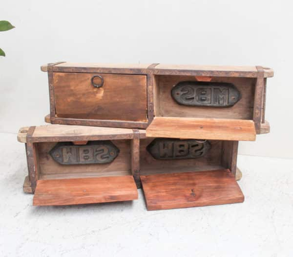 Vintage Brick Mould - Double with Doors - Barron Imports
