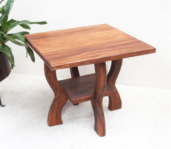 Small Table - Square Recycled Teak - Barron Imports