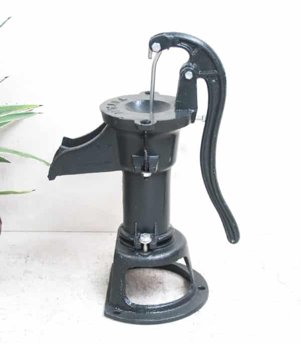 Cast Iron Hand Water Pump - Large Pitcher - Barron Imports