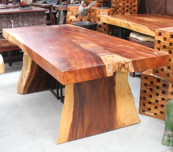 Monkey Wood Dining Table - #TP1 - Barron Imports