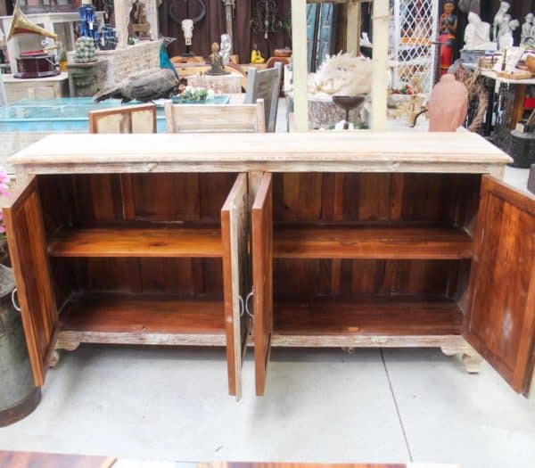 Recycled Teak Cabinet/Sideboard - #Inf51 - Barron Imports