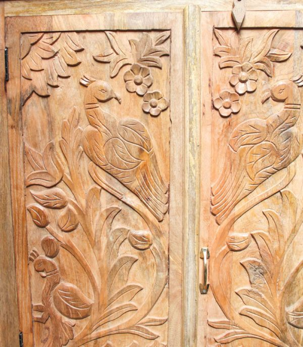 Stunning Hand Carved Cabinet - A.Decor 28 - Barron Imports