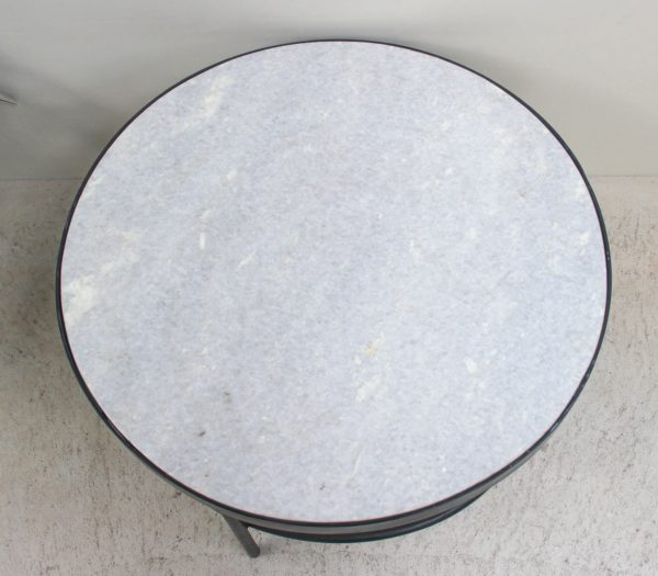 Marble Round Coffee/Side Table - PR2-51d - Barron Imports