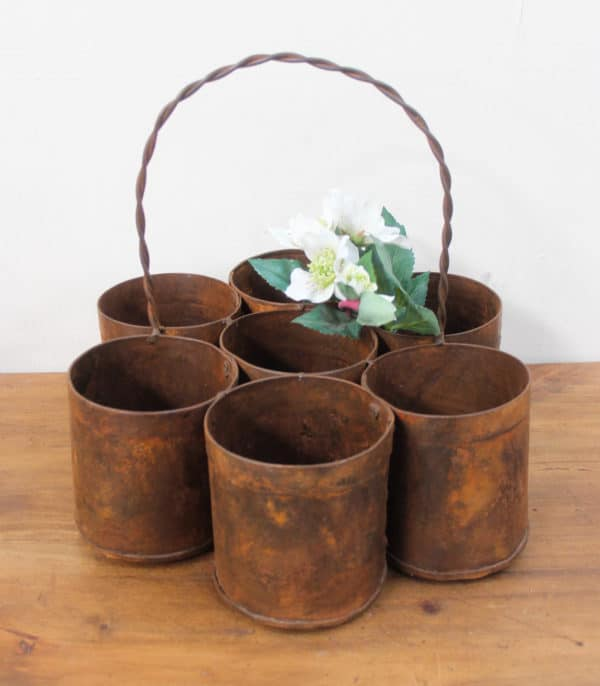 Seven Iron Pots with Handle - Barron Imports