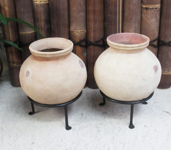 Vintage Water Pot with Stand - Barron Imports
