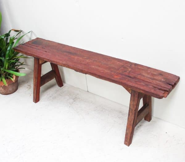 Rosewood Bench Seat - K.Tip 06a - Barron Imports